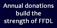 Annual donations build the strength of FFDL